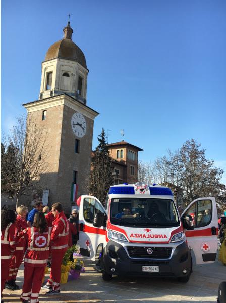 La nostra nuova ambulanza