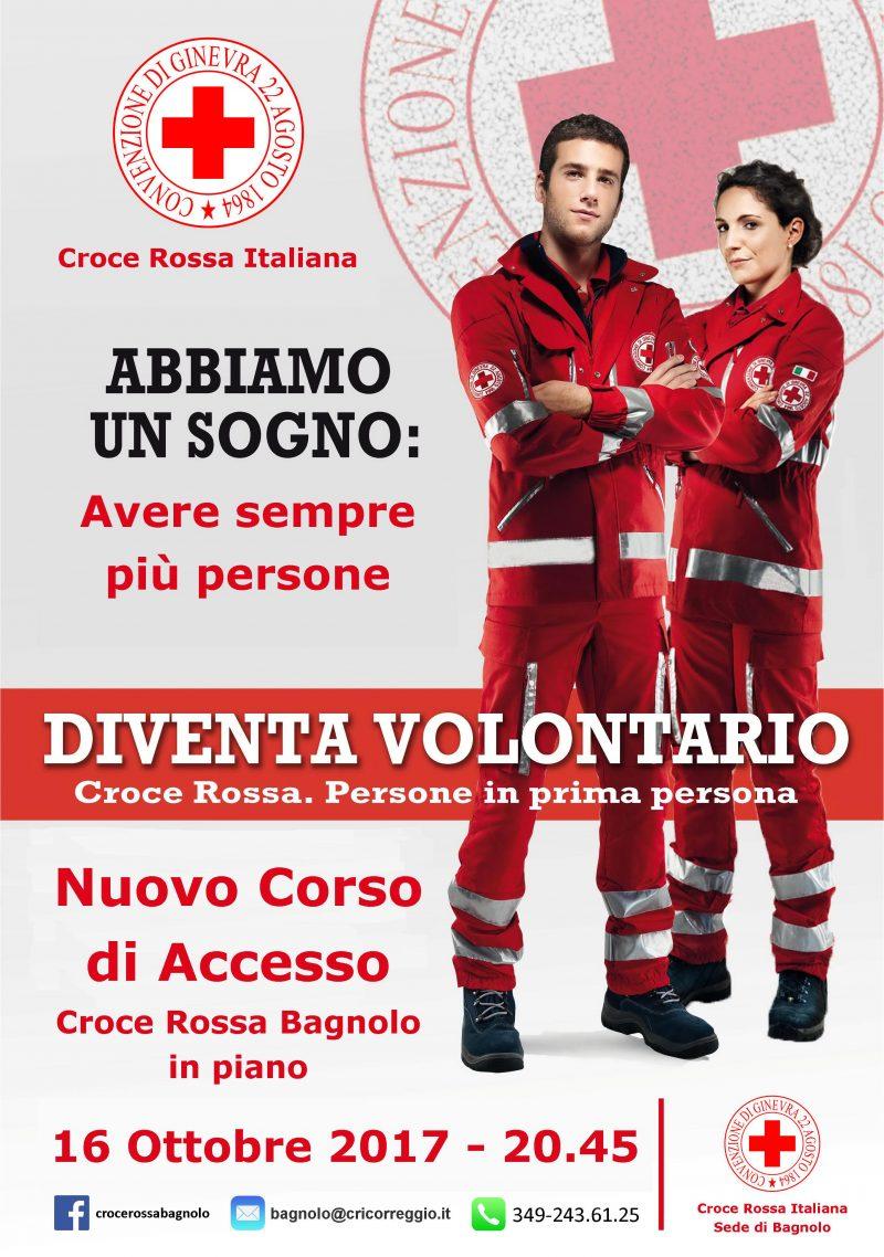 Nuovo corso di accesso alla Croce Rossa Italiana 2017/2018